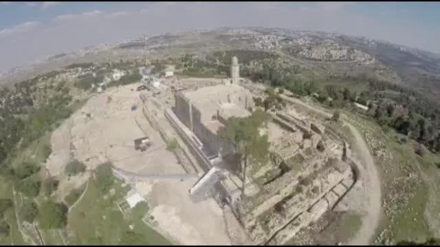 לקראת ההילולא: תיעוד אווירי מקבר שמואל