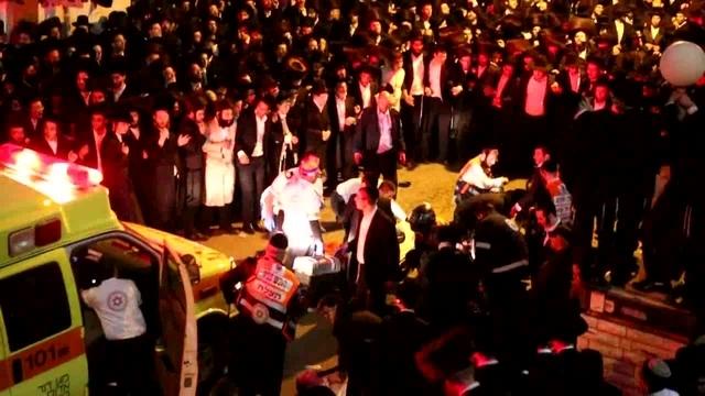 מזעזע: צפו בהחייאה על פצוע אנוש בהלוויה